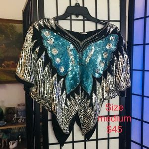 Sequin vintage gorgeous size medium